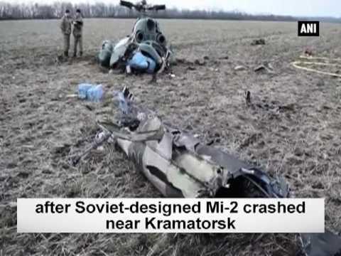 2 crew members, 3 passengers killed in military aircraft crash  - ANI #News