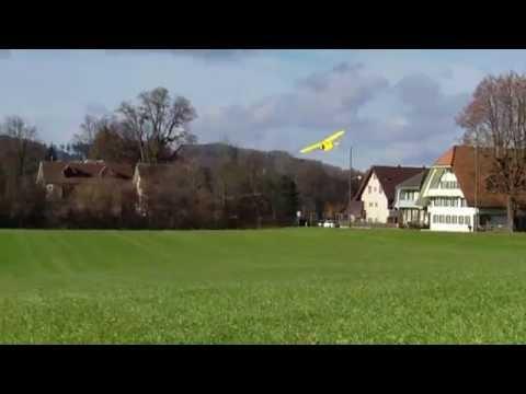 Best Ever $35 Foamie Trainer/3D aerobatic flying Unlimited Loops GWS Cub 3 channel HD video