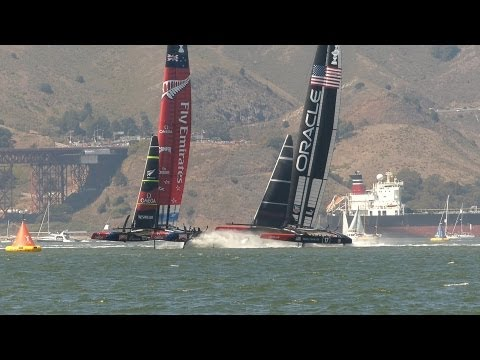 34th America's Cup: Race 1, 7 Sep 2013