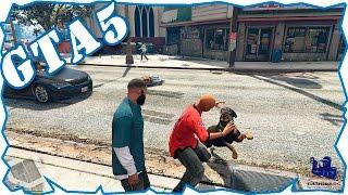 GTA 5 прохождение | Тренируем собаку Чоп