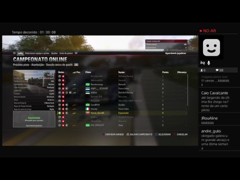 F1 2017 - F1 Virtual - Categoria A - 8@ Etapa - Gp da Europa