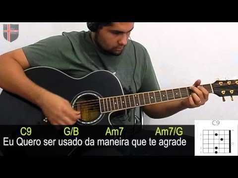 Sonda Me Usa Me Aline Barros ( Cifra ) Violão