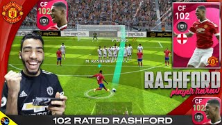 Iconic Moment RASHFORD 102 Rated Review 🔥 This card is unstoppable 😱 pes 2021 mobile