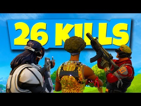 THE BEST 26 KILLS VICTORY ROYALE EVER!? (Fortnite Battle Royale)