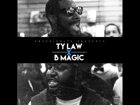 B MAGIC VS TY LAW SMACK/ URL RAP BATTLE