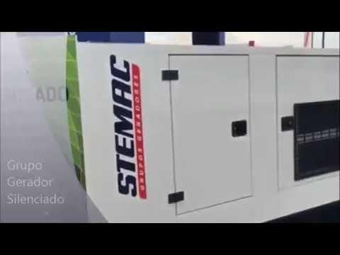 4cb65808efd Grupos Geradores Silenciados STEMAC - YouTube