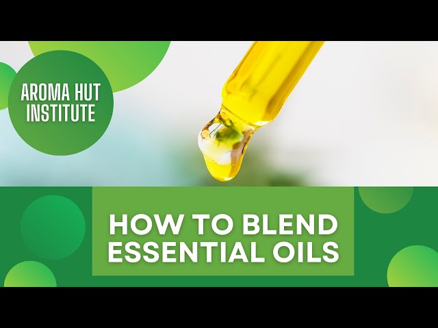 How to Blend Essential Oils   Blending by Note    1-2-3 Method