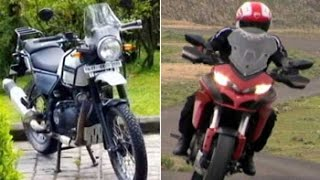 Car And Bike Show - Ducati Mutistrada 1200S, Royal Enfield Himalayan and Bajaj V15