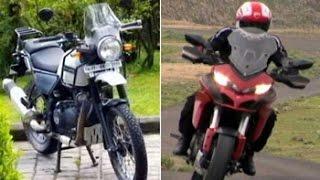 Car And Bike Show - Ducati Mutistrada 1200S, Royal Enfield Himalayan and Bajaj V15