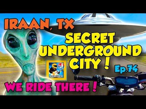 The Secret Underground City Near Iraan, Texas