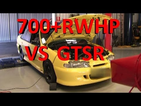 VS GTS-R supercharged 710rwhp