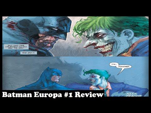 Batman Europa #1 Review - Berlin