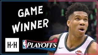 Giannis Antetokounmpo Full Game 4 Highlights Celtics vs Bucks 2018 Playoffs - 27 Pts, GAME-WINNER!