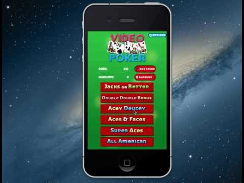 Video Poker Casino App Source Code By Bluecloud Solutions