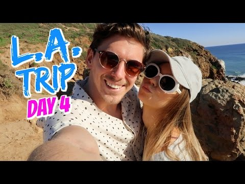 MASSIVE CLIFFS IN MALIBU!!! // L.A. TRIP DAY 4