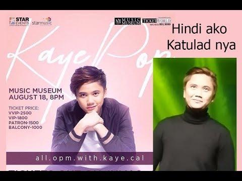 Hindi Ako Katulad Nya By Jeremiah ( Perfomed By Kaye Cal) #kayepop @ Music Museum