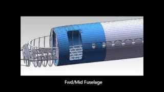 CRJ-100 Engineering Model (SolidWorks)
