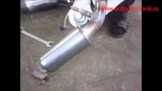 Ремонт и замена катализаторов Infiniti FX45 на пламегасители