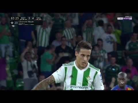 Golazo De Cristian Tello En El Real Betis 3