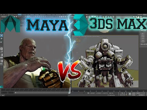 3D max or Maya Which is Better