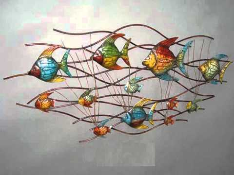 Wall Art Ideas Endearing Metal Wall Décor Collection  Metal Metal Wall Art Ideas  Youtube Decorating Inspiration