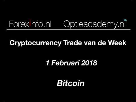 Cryptocurrency Trade van de Week 1 feb 2018: Bitcoin