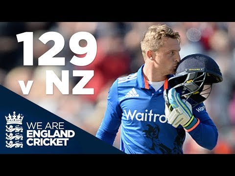 Jos Buttler Hits 129 Off 77 Balls v New Zealand 2015 - Full Highlights