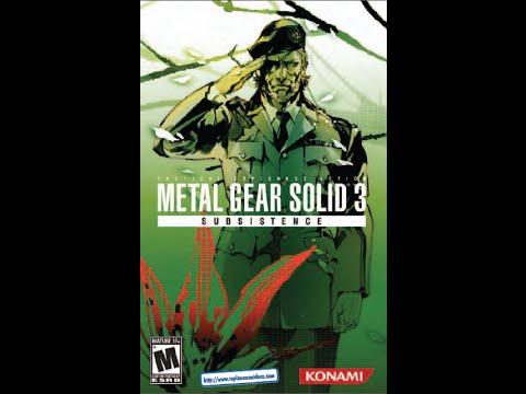 Metal gear solid 3: subsistence box set – koreanversion. Com.