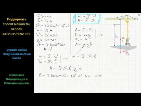Решение задачи по физике башенный кран решение задач отчетность и учет