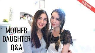 Mother Daughter Q&A⎮Vlogmas 2017