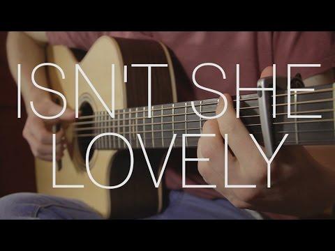 Stevie Wonder - Isn't She Lovely - Fingerstyle Guitar Cover By James Bartholomew