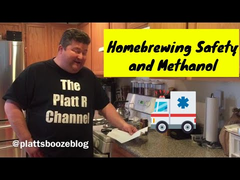 Homebrewing Safety And Methanol