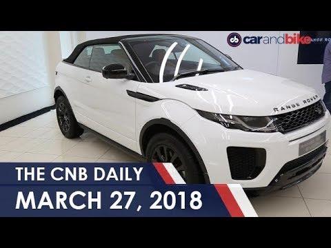Range Rover Evoque Convertible Launched Tata Nexon New Trim 2018