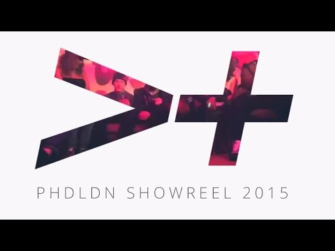 PHDLDN Showreel 2015