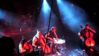 Apocalyptica - Sacra - The Regency SF - September 9 2010