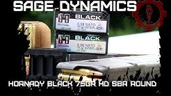 Hornady Black 75Gr HD SBR 5.56