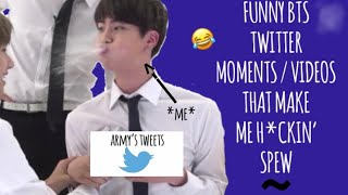 Funny BTS Twitter Moments That Make Me Heckin' Spew