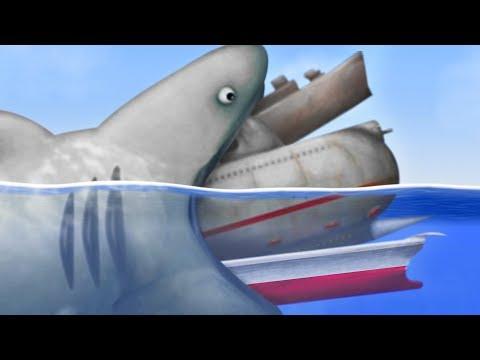 GIANT SHARK EATS EVERYTHING - Tasty Planet Forever Part 8 | Pungence