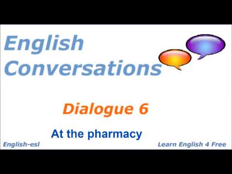 learn English conversation: Pharmacy from YouTube · Duration:  3 minutes 19 seconds