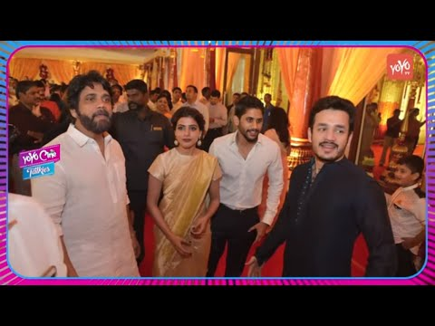 Nagarjuna Introduced Samantha As Daughter in Law To Sachin Tendulkar | YOYO Cine Talkies