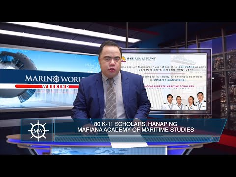 80 K-11 SCHOOLS, HANAP NG MARIANA ACADEMY OF MARITIME STUDIES