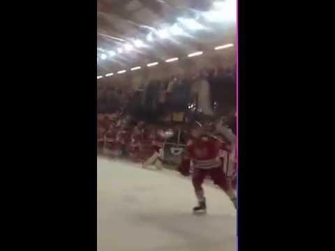 Cardiff devils lap celebrating 6-5 vs Brehead