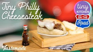 Tiny Philly Cheesesteak   Tiny Kitchen On The Road