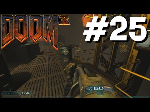 Doom 3 #25 - Excavation Transfer (A Long Level!)