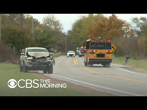 String of school bus stop accidents raises safety concerns