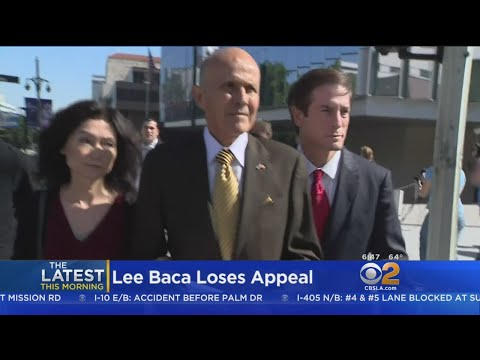 Lee Baca Loses Another Bid To Stay Out Of Prison