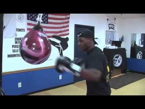 Kenneth Pompey S Aqua Sparring Drills Punching Bag Small Combinations