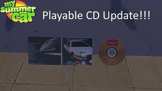 Baixar My Summer Car - CD Player Update/Playable CDs