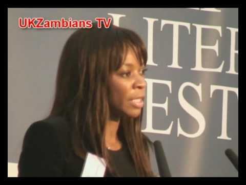 Dambisa Moyo at the Oxford Literary Festival talking about Dead Aid