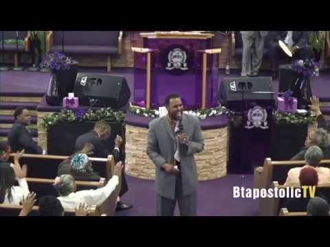 "Bishop Marcus E. Burns Preaching ""A Divine Supply"""